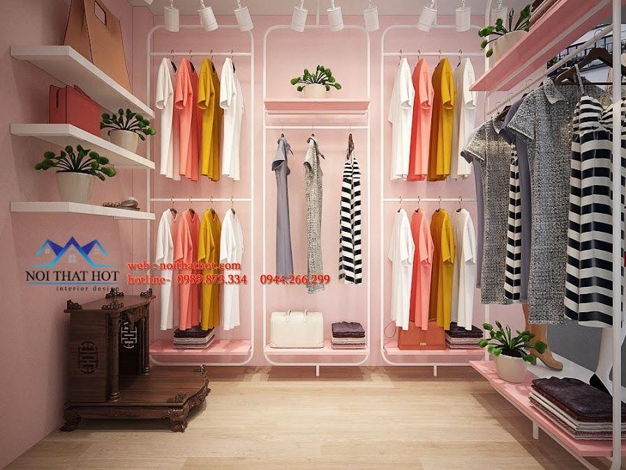 thiết kế shop thời trang ena 2