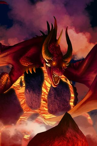 Скриншот Vulcano Dragon Demo