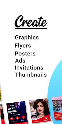 Poster Maker Flyer Maker Graphic Design App 28.0 Apk for Android 2
