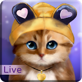 Toffee Cute Kitten Live Wallpaper Apk Download Free for PC, smart TV