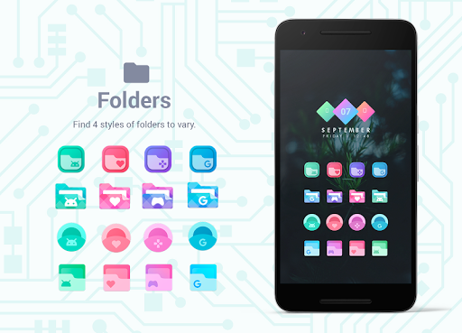 Bixpic Icons (6 Icon Packs included)  screenshots 8