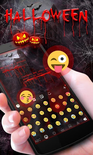 玩免費個人化APP|下載Halloween Keyboard Theme Emoji app不用錢|硬是要APP