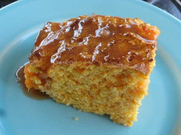 Sweet Potato Cornbread With Cinnamon Honey Butter