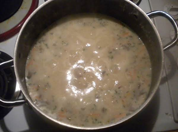 Yummy Creamy Wild Rice Soup!