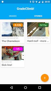 GradeClimb! Climbing App - náhled