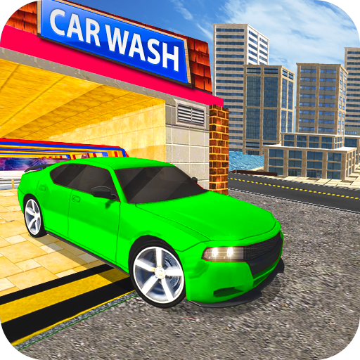 Car Wash Service Station: Car Driver