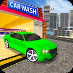 Car Wash Service Station: Car Driver Icon