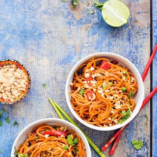 Asian Style Sweet Potato Noodles.