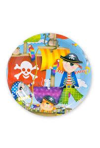 Pirat, tallrikar