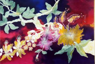 Photo: #022-L'artisanat traditionnel, le Batik-Yogyakarta-Java
