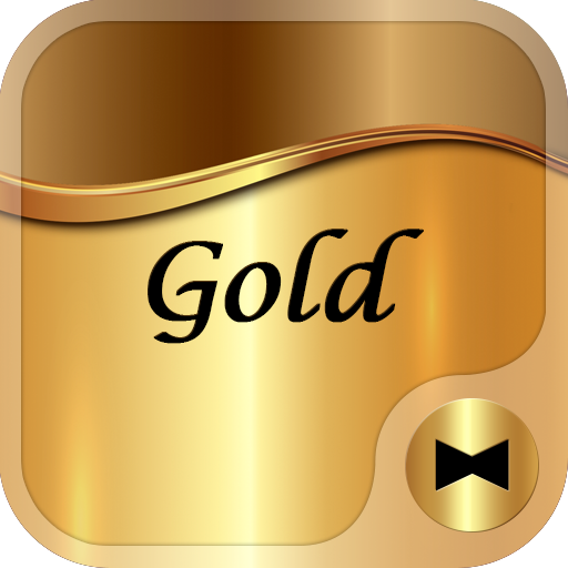 Gold +HOME Theme Icon