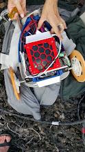 Photo: Field debugging.