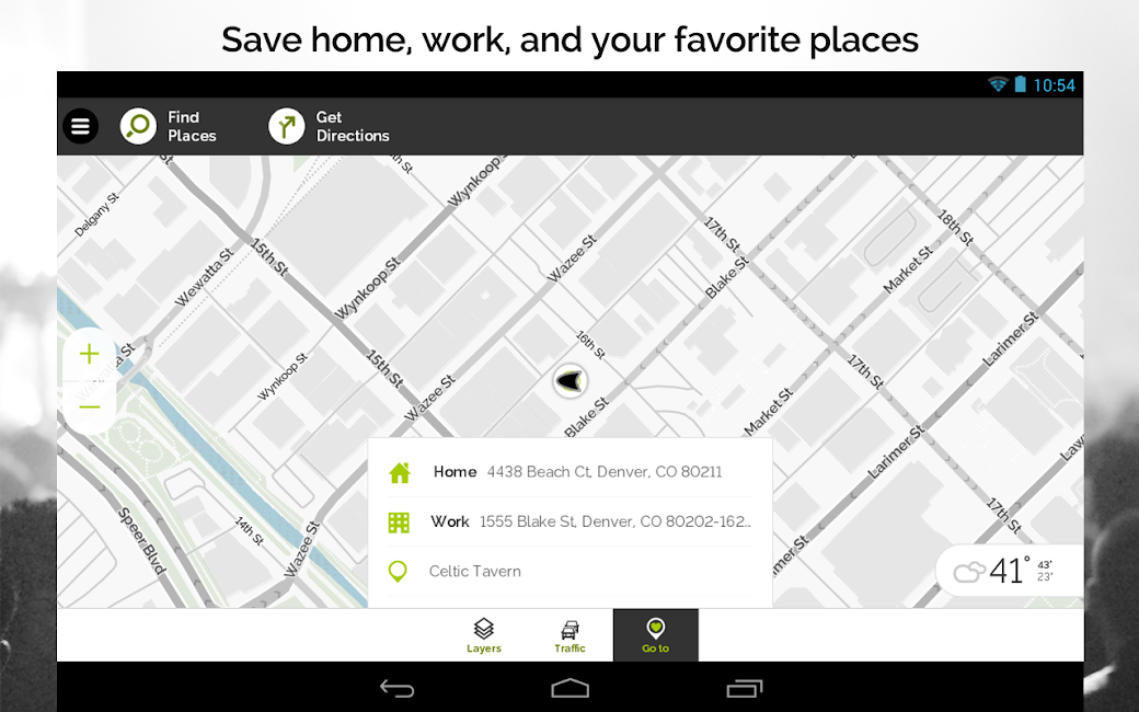 #23. MapQuest GPS Navigation & Maps (Android)