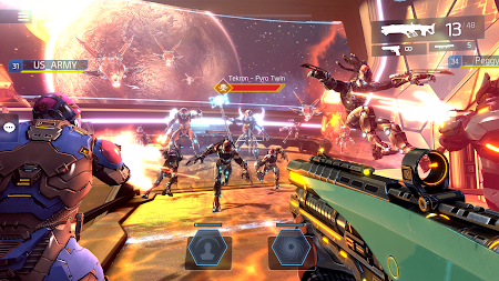 SHADOWGUN LEGENDS - FPS PvP Free Shooting Games APK screenshot thumbnail 8