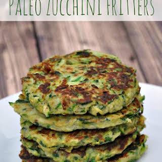 Paleo Zucchini Fritters.