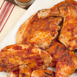 Tennessee Honey Barbecued Chicken.