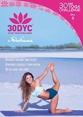Dashama Konah Gordon - 30DYC: 30 Day Yoga Challenge With Dashama Disc 5