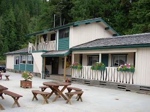 Photo: Cordero Lodge on Cordero Channel.