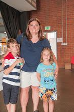 Photo: Dorene's daugter Susan Applegae and her children