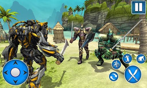 Sword Robot Fighting Game: Sword Robot Hero  captures d'écran 2