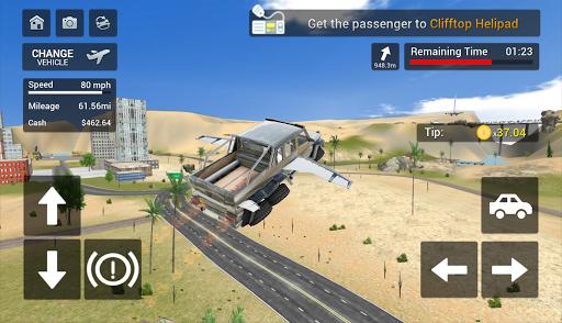 Flying Car Transport Simulator  screenshots 21
