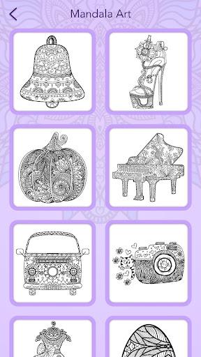 Mandala Coloring Book 3.1.4 screenshots 7