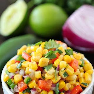 Easy Corn Salsa.
