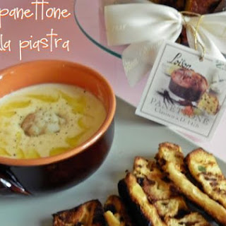 Potage Of Potatoes, Cauliflower and Grilled Panettone