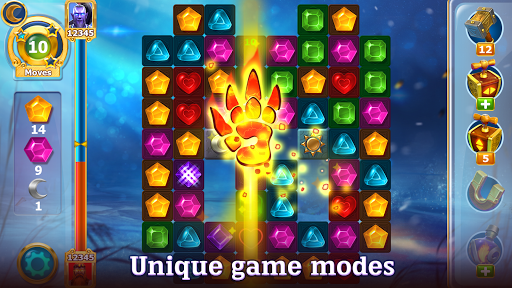 Diamonds Time - Mystery Story Free Match 3 Game - screenshot