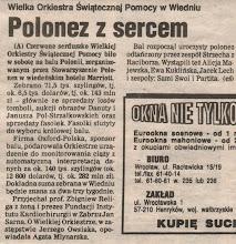 Photo: GAZETA WYBORCZA - 31 stycznia 1994 r.