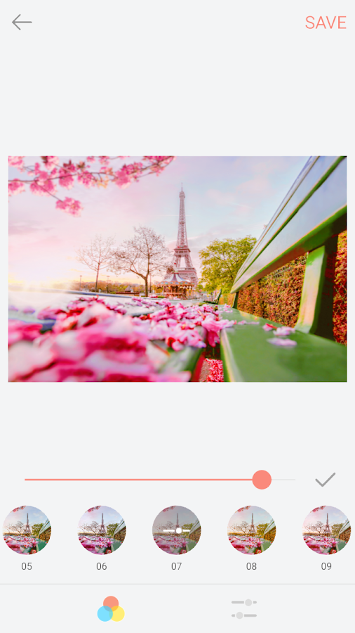 palette paris - android apps on google play