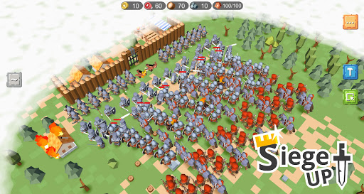 RTS Siege Up! - Medieval Warfare Strategy Offline apkmr screenshots 1
