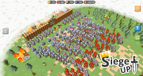 RTS Siege Up! MOD APK [Full Unlocked + No Ads] 1