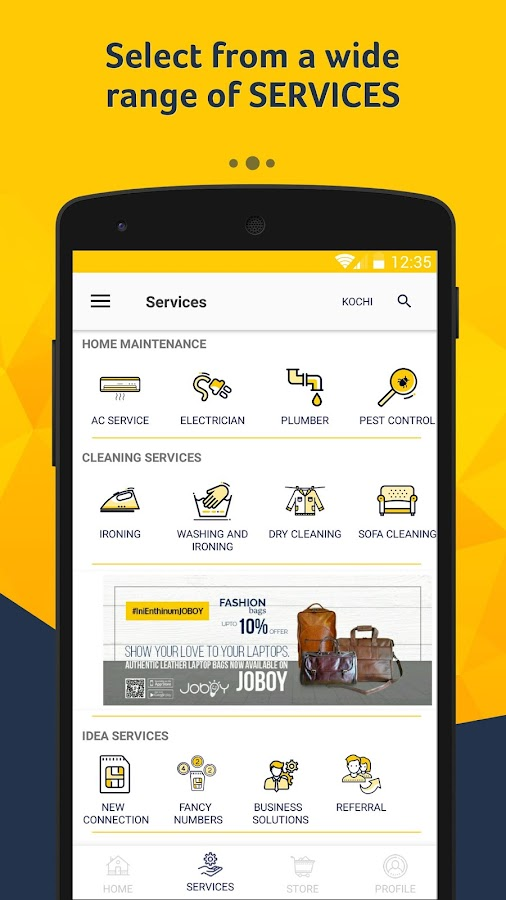 JOBOY - Home Services, Local services, Repairs- screenshot