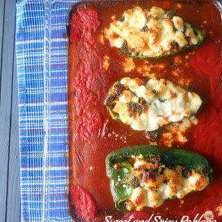Sweet and Spicy Stuffed Poblanos