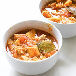 Slow Cooker Sweet Potato and Chicken Stew (Gluten-Free, Paleo).