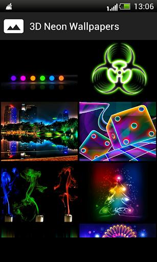 3D Neon HD Wallpapers