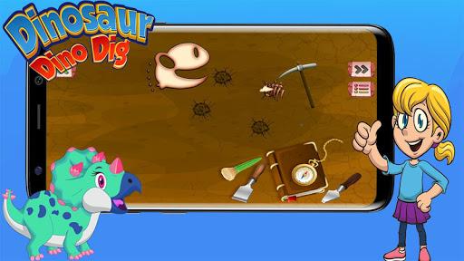 Digging Games - Find Dinosaurs Bones FREE 4 de.gamequotes.net 2