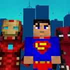 Superhero skins for Minecraft 3D icon