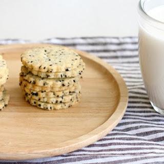 Black Sesame Cookie.