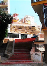 Photo: un peitit village tout en hauteur