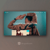 Grupoboom instagram diseño web tienda landing