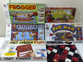Photo: Board games of arcade games and related electronic gaming