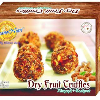Dry Fruit Truffles