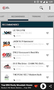 Radioplayer Canada- screenshot thumbnail