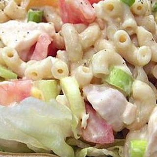 Macaroni and Chicken Salad
