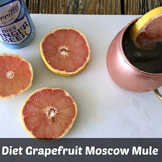 Diet Grapefruit Moscow Mule.