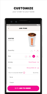 Dunkin' Screenshot