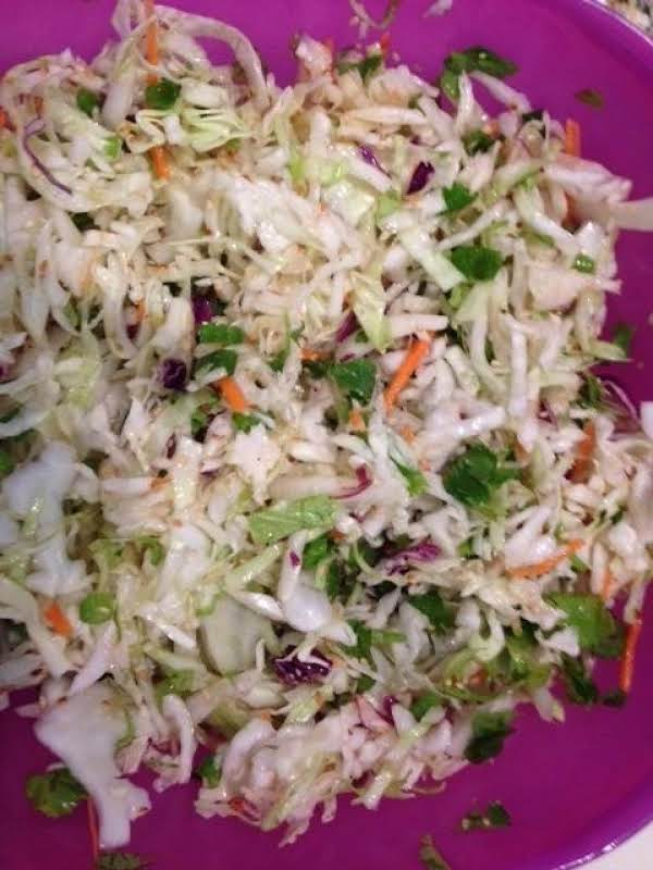 Quick And Easy Asian Coleslaw Recipe
