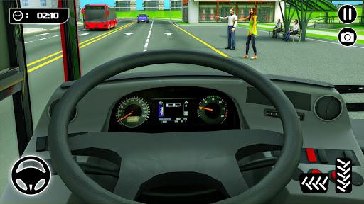 City Passenger Coach Bus Simulator screenshot 8